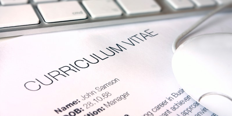 CV writing for mature age workers